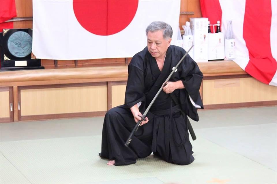 sugino brussels Katori Shinto Ryu Seminar with Sugino Sensei 9'dan in Brussels