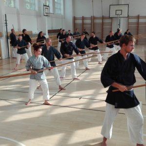 sztuka walki kijem 3 Olomulec, Czechy - Seminarium Katori Shinto Ryu z Sensei Ulf Rott