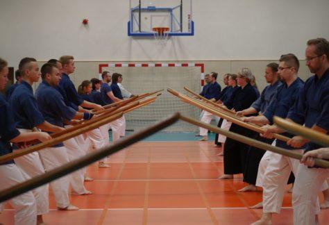 trening szermierki japonskiej